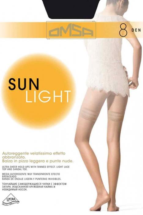 Silikonová Sock Super Thin 186 8 Den Omsa