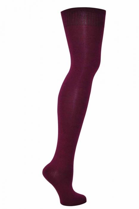 Dámské kolena vysoké bavlněné ponožky