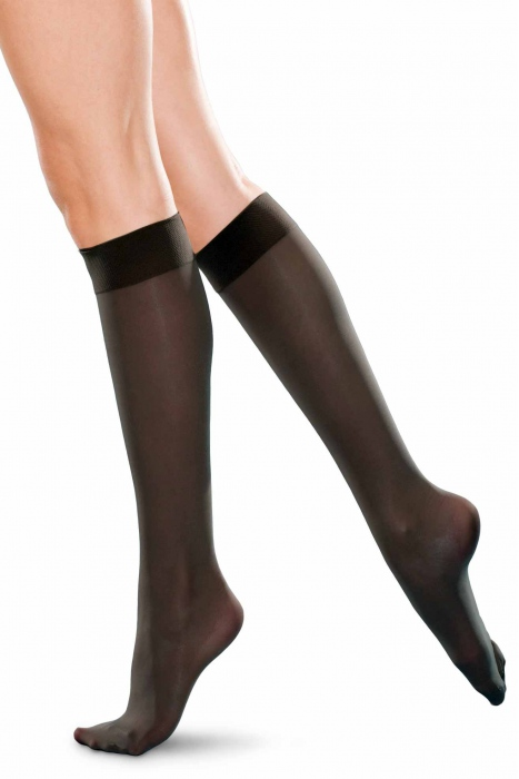 Ponožky koleno vysokého Dámské classic 20 den