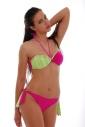 Bikini set Maillot sousedil Bando a stuhy tie boční dna 1188