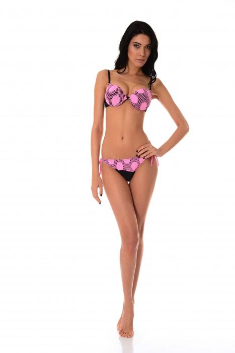 Bikini Set push up pevný šálek & dna tenké tie 1176