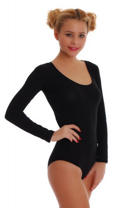 Bavlněné dámské s dlouhým rukávem kombinézu Bikini styl 1380