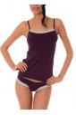 Dámy Bavlna Set Živůtek & Bikini Kalhotky s krajkou 1451