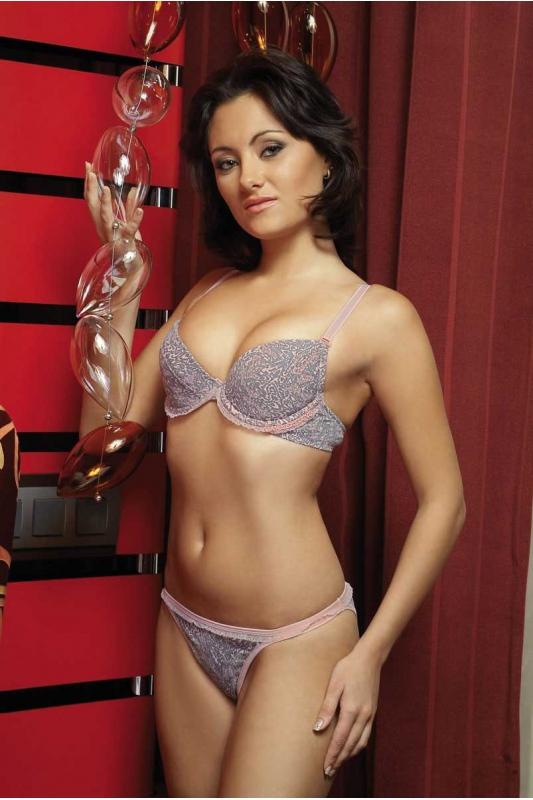 Bavlna Lady Set Podprsenka & Tanga Pantiesi 2131-1215A