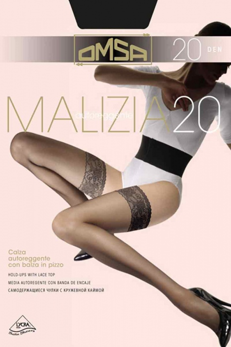 Silikonová Sock Classic 20 Den Omsa 258