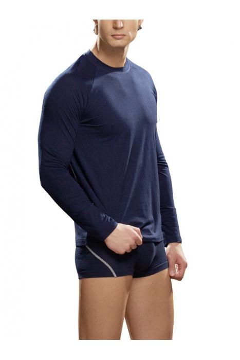 Pánské tričko s dlouhým rukávem Bavlněné Lycra Lord 286