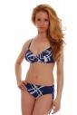 Bikini set typ měkký pohár podprsenka & Brief boyshorts Styl 1796