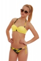 Bikini Set push up Balconette & plavek tenká Kravata 1725