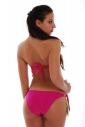 Bikini set Maillot sousedil Bando a stuhy svázat postranní dna 1188