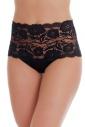 Elegantní vysokým pasem Brief Kalhotky Lace Cotton 1046