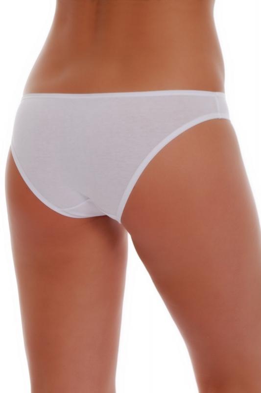 Bavlněné Nízké Pas Bikini Kalhotky 1027