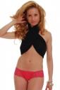 Boyshorts Tanga Style Kalhotky Bavlna Lace 072