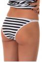 Еxcised Cotton Tanga kalhotky Stripe 1215